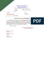 CertificateOfArraignment_Vagrancy.doc
