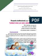 Proyecto SOÑAR CON LOS OJOS ABIERTOS