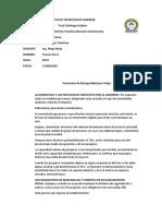 .--Bioseguridad Protocolo