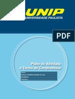 Estagio (Plano de Atividade e Termo de Compromisso)