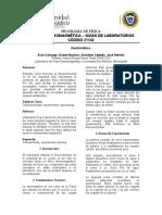 Informe 02 - Electrostática