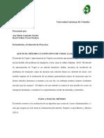 MÉTODO CUANTITATIVO DE VOGEL