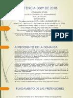 SENTENCIA 0889 DE 2018