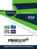 CATALOGO DE PRODUCTOS PROELCO