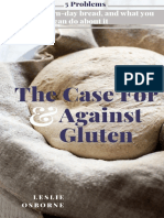 The case for and against gluten  - Updated