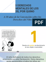 10 DERECHOS FUNDAMENTALES QUINO