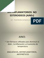ANTIINFLAMATORIOS  NO ESTEROIDEOS (AINEs).ppt