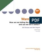 Warm Words. IPPR - Ereaut & Segnit (2006)
