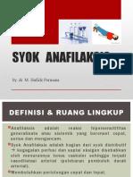 Syok Anafilaksis by Dr Hafidz