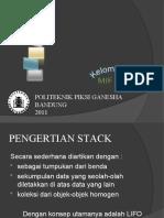 Stack - Struktur Data