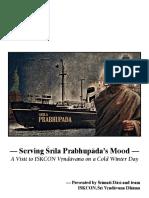 Serving Srila Prabhupada's Mood