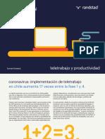 teletrabajo y coronavirus Chile 2020