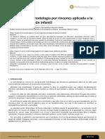 Análisis de la metodología por rincones aplicada a la educacion infantil
