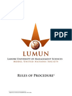 LUMUN_Rules of Procedure