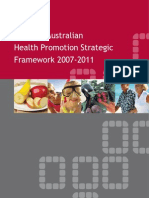 WA_Health_Promotion_Strategic_Framework_2007_2011