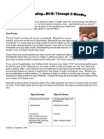 Infant Feeding Birth to 6 Months Self-Paced Lesson