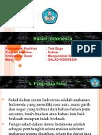 Mengolah Salad Indonesia