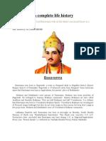 Basavanna -a complete life history