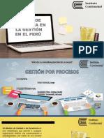 MODELO DE EXCELENCIA  DE GESTION EN EL PERU