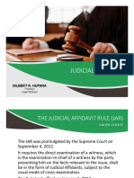 Lecture 06 Judicial Affidavit