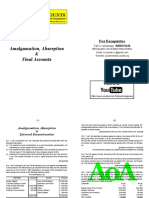 03 Amalgamation and Final Accounts of Companies