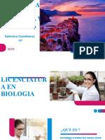 LINCENCIATURAS  EN BIOLOGIA Y PRIMARIA