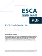 Guideline 14 Power Cable Installation Issue 3 October 2018