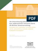 2016-11 - Göttinger Institut für Demokratieforschung - Die Unterstützung pädosexueller bzw. päderastischer Interessen durch die Berliner Senatsverwaltung (Orig., dsb.)