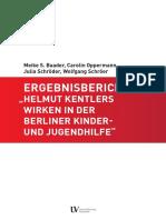 2020-06 - Universität Hildesheim - Ergebnisbericht - Helmut Kentlers Wirken in der Berliner Kinder- und Jugendhilfe (Orig., dsb.)