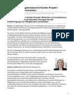 Aufarbeitungskommission - Statement zu Ergebnisbericht Kentler-Projekt (15.6.20, Netz, dsb.)