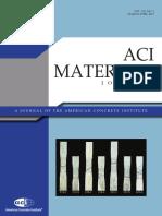 ACI Materials Journal March April 2013 V
