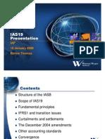 IAS19 Presentation to IAP2