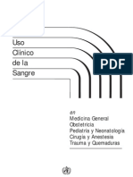 manual de transfusiones oms
