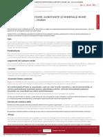 10 PRODUSE ALIMENTARE, SUBSTANȚE ȘI MINERALE BUNE PENTRU ORGANISM - Diabet - Doctor Florin Ioan Bălănică