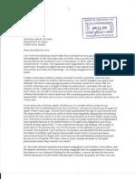 Hubert's Letter to de Lima