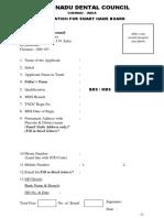 Application form for Smart Board