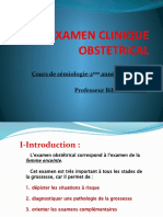 L_EXAMEN CLINIQUE OBSTETRICAL