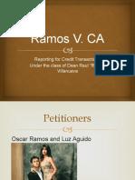 Ramos V Ca