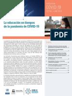 Informe CEPAL-UNESCO