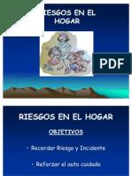 RIESGOS EN EL HOGAR