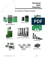 Emerson Tech Note Directory