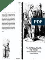 Livro Política Educacional Shiroma