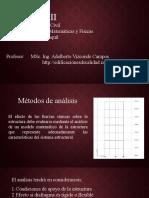 2. Métodos de análisis