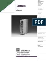 Lenze 9300 Vector Frequency Converter Manual