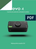 EVO 4 User Guide Manual Argentinian ES V5.0