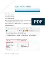 FG EXPORT SALES (Create Sales Order and Return).docx