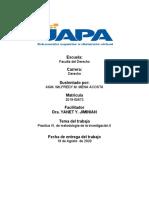 PRACTICA VI DE METODOLOGIA DE INVESTIGACION II