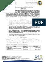 Acta de liquidacion - Codigo ARQ60-TGI2018