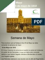 4- Semana de mayo