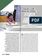 Familias y escuelas en tiempos de pandemia. Isabelino Siede